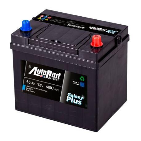 Bateria arranque Galaxy Plus Japanese 60AH 480A