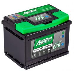 Bateria arranque Galaxy EFB 62AH 580A