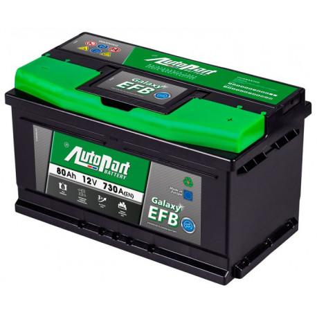 Bateria arranque Galaxy EFB 60AH 560A