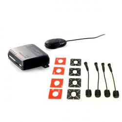9-Kit 4 Sensores DELANTEROS SteelMate color negro con zumbador