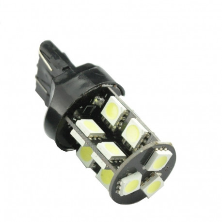 2 Bombillas LED 19 SMD W21W 7440 T20