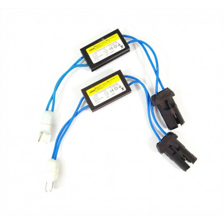 2 Warning canceller T10 CanBus cable