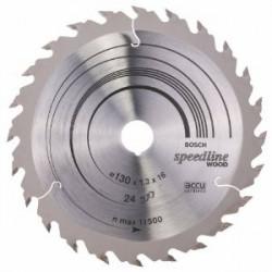 Disco circular Speedline Bosch 130x16x0,8-24 dientes