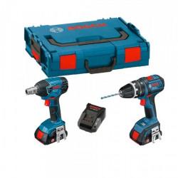 GDS 18 V-LI Professional+GSB 18 V-EC Professional +2 bat. 5Ah+ LBoxx