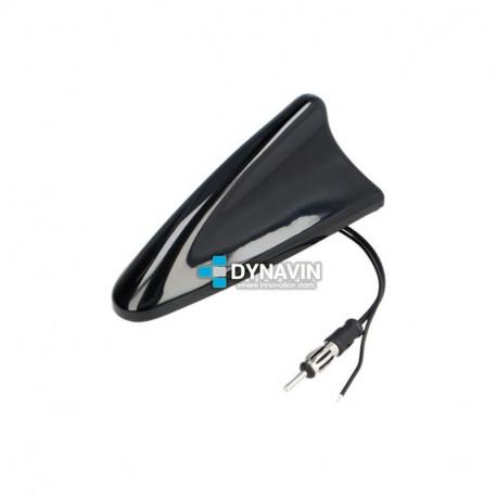 Antena Radio AM-FM GPS-GSM Tipo Tiburón