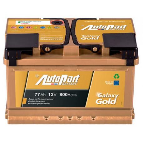 Bateria arranque Galaxy Gold 77AH