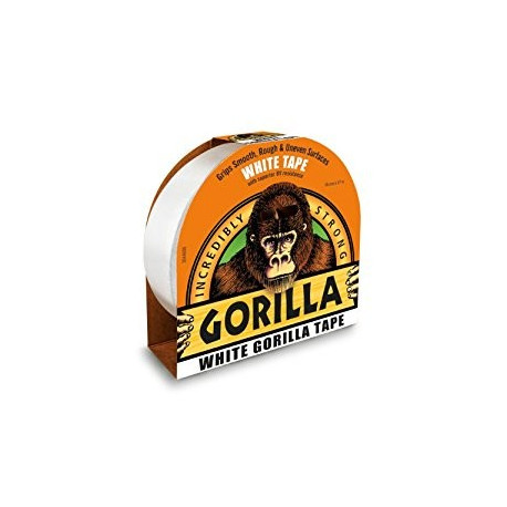 Expositor Cinta americana Gorilla 48mm -32m color PLATA