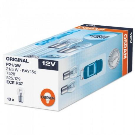 Caja 10 Lámparas OSRAM BAY15d 12V 21/5W P21/5W