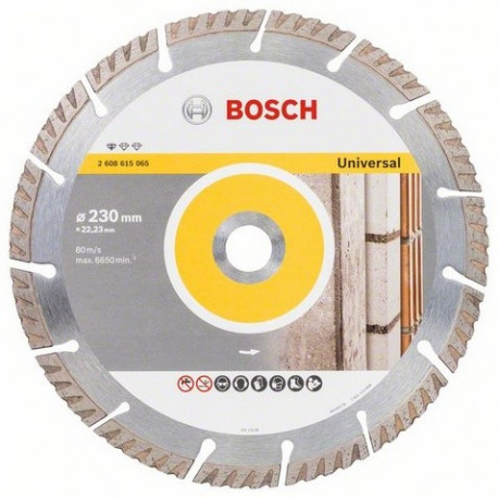 2608602195 Disco diamante Bosch 230mm gral. obra
