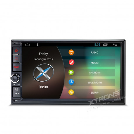 "Radio GPS para coche Android 6.0 LCD 7"" Táctil Octa Core 2Gb Ram Ultra HD 4k"