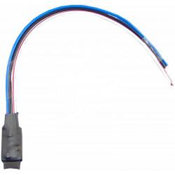 Amplificador de salida conmutada, con cambio polaridad, GND in, +12V out