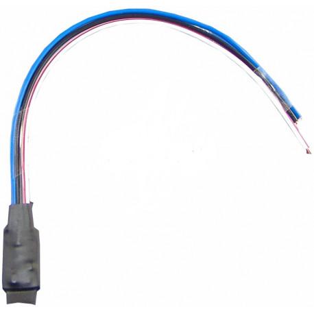 Amplificador de salida conmutada, con cambio polaridad, +12v in, gnd out