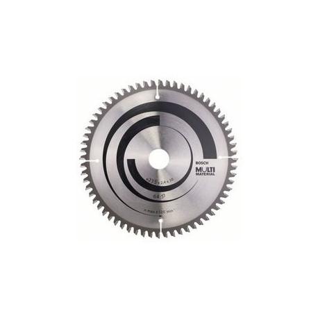 Hoja de sierra circular Multimaterial Bosch 235x30x64 dientes