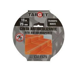 Expositor Cinta Adhesiva antideslizante negra TARGET 15m x 50mm