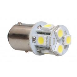 Lámpara led L089 - Bay15D 8xSMD5050 Blanco 12V