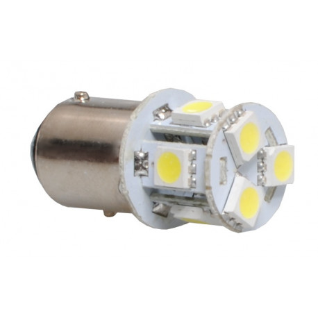 Lámpara led L089 - Bay15D 8xSMD5050 Blanco 12V