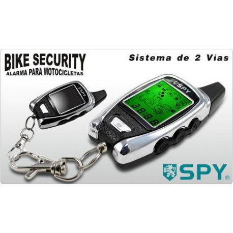 Alarma para moto SPY FM5000 con 2 mandos y sensor de golpes