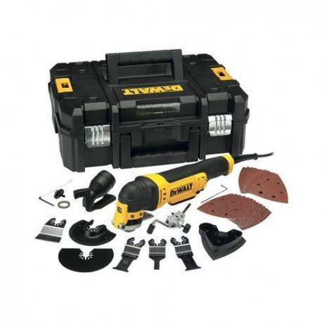 Multi-herramienta Oscilante DeWalt 300W con maletín + 37 accesorios