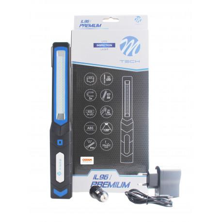 Lámpara portatil de taller 20+3 LED SMD Premium