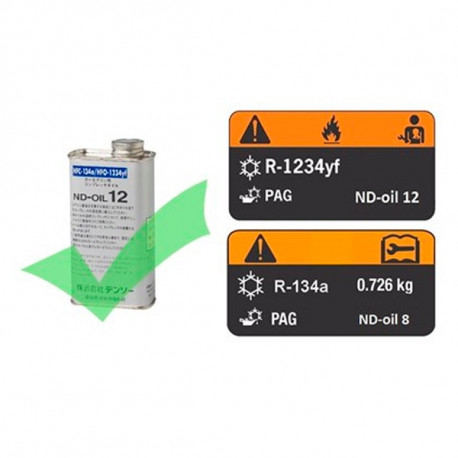 Aceite ND12 para sistemas con R-1234yf