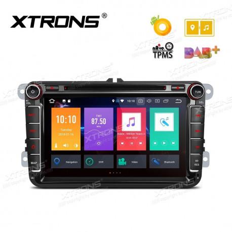 "Radio DVD GPS Android 6.0 Marshmallow LCD 7"" táctil para VW Seat Skoda"