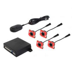 4-Kit 4 Sensores Traseros SteelMate con Display M21