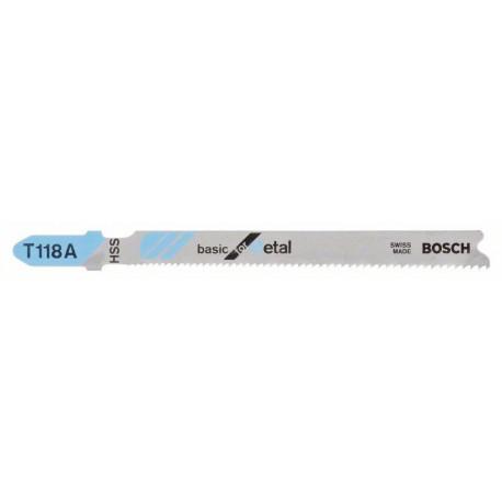 Hoja de sierra de calar T 118 A (25 unid)