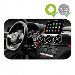 "MERCEDES CLASE A/B/CLA/GLA (2012 - 2015) - MERCEDES NTG 4.5 LCD GPS TACTIL 8"" - ANDROID 7.1.2"