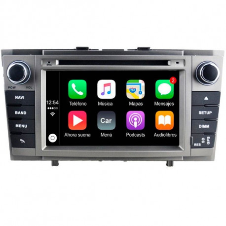 NAVEGADOR TOYOTA AVENSIS T27 - ANDROID