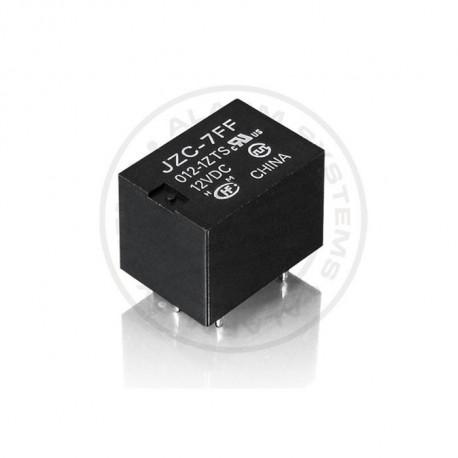 Relé 12V / 15A ensamblar - 1x contacto conmutación