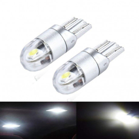 2 Bombillas led T10 WHITE 12V-24V