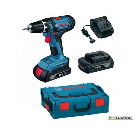 06019B7301 Atornillador a batería Bosch GSR 18-2-LI