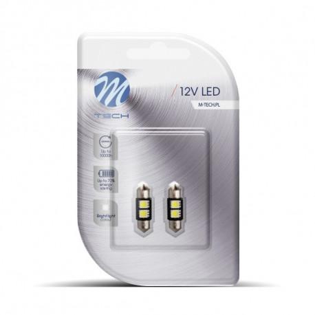 2 Bombillas de LED Festoon de 31mm Can Bus 2xSMD5050