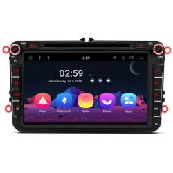 "RADIO DVD GPS Android 8.1 Seat VW Skoda LCD Táctil 8"" GPS BLUETOOTH WIFI"