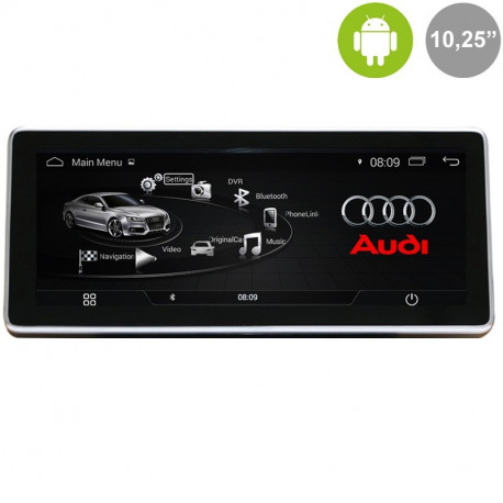 AUDI A4, A5 (MMI 3G) - ANDROID 10,25""