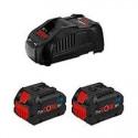 Power set 18V Litio Professional 2 BAT- 6Ah+Cargador