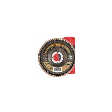 Disco abrasivo de láminas Rhodius LSA-F1-40X115