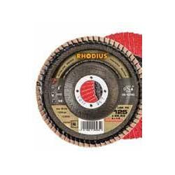 Disco abrasivo de láminas Rhodius LSA-F1-80X115