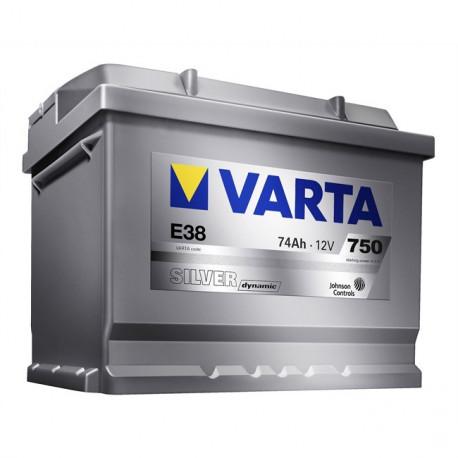 Bateria arranque Silver Dynamic 74AH 750A
