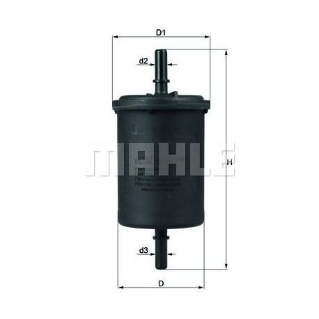 FILTRO COMBUSTIBLE REN WK6002 KL416/1