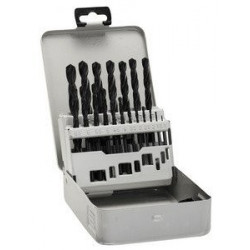 Brocas metal Bosch:Rosebox set 19unids. HSS-G 1,0- 10mm