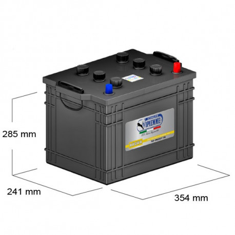 Bateria agrícola Vipiemme 140AH 950A