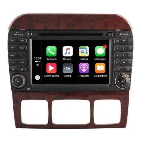 NAVEGADOR MERCEDES CLASE S (W220) - ANDROID 8