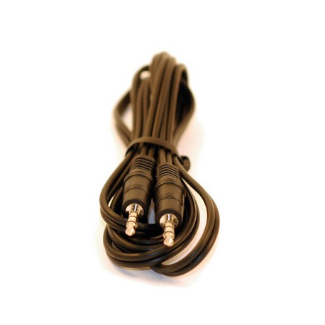 Cable extension auxiliar 3.5mm jack (1,3m)