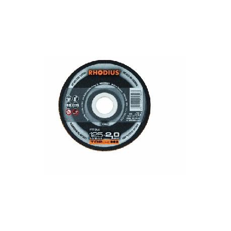 Disco Rhodius esp. aluminio FT24-125x2mm