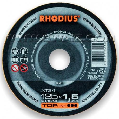 RHO205911 Disco corte Rhodius Especial Alu XT24-1251,5