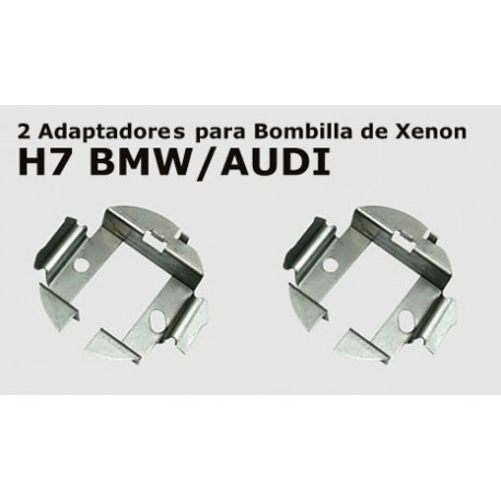 2 Adaptadores H7 BMW/AUDI