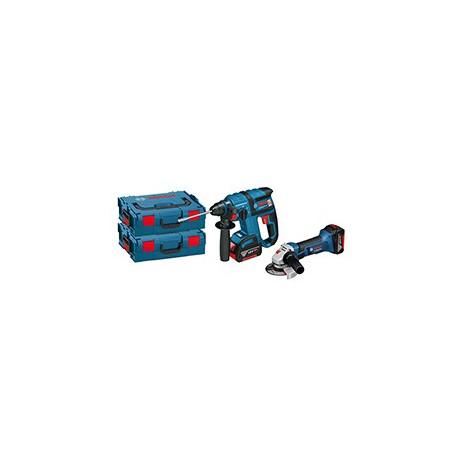 Combo Bosch batería: Martillo GBH 18VEC+ Miniamoladora GWS 18