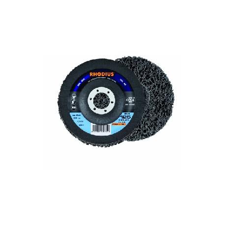 Disco de vellón limpieza Rhodius 115mm