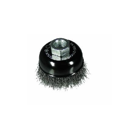 Cepillo de taza alambre  miniamoladora Rhodius 65mm